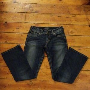 Silver Jeans Suki Size 29W/32L EUC